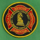 Quantico Marine Corps Air Station Virginia Crash Fire Rescue Patch