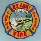 Massachusetts Army Air National Guard Crash Fire Rescue Patch