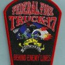 San Diego California Federal Fire Truck 17 Patch