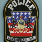 Linesville Pennsylvania Police Patch