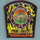 Punxsutawney Pennsylvania Fire Patch