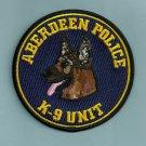 Aberdeen Washington Police K-9 Unit Patch