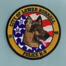 Lower Burrell Pennsylvania Police K-9 Unit Patch