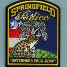 Springfield South Carolina Police Patch FROG
