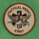 TAN Tactical SWAT Team Medic Patch