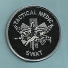 GRAY Tactical SWAT Team Medic Patch