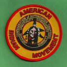 """AIM American Indian Movement """"Autonomous Chapters"""" Patch"""
