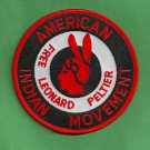 "AIM American Indian Movement ""Free Leonard Peltier"" Patch"