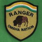 Omaha Nation Nebraska Tribal Ranger Police Patch