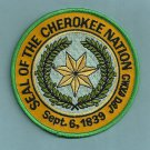 Cherokee Nation North Carolina Tribal Seal Patch