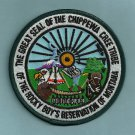 Chippewa Cree Montana Tribal Seal Patch