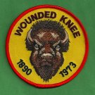 AIM American Indian Movement Wounded Knee 1890-1973 Patch