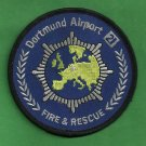 Dortmund International Airport Germany Fire Rescue Patch ARFF
