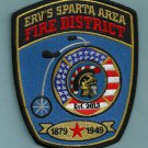 Erv's Sparta Wisconsin Fire Rescue Patch