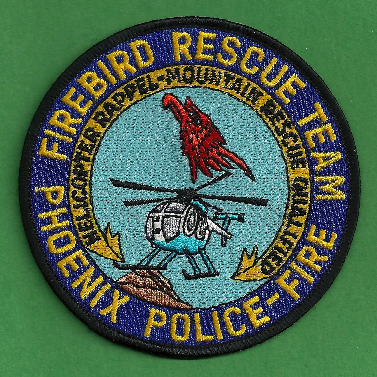Phoenix arizona police fire helicopter rescue team patch for Jewelry stores in gwinnett county ga