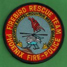 Phoenix Arizona Police-Fire Helicopter Rescue Team Patch