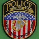 Ennis Montana Police Patch