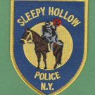 Sleepy Hollow New York Police Patch