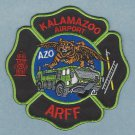 Kalamazoo Regional Airport Michigan Fire Rescue Patch ARFF