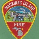 Mackinac Island Michigan Fire Rescue Patch