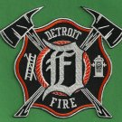Detroit Michigan Fire Patch