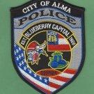 Alma Georgia Police Patch