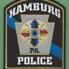 Hamburg Pennsylvania Police Patch