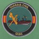 Spain Guardia Civil GEAS Dive Rescue Team Police Patch