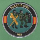 Spain Guardia Civil UEI SWAT Team Police Patch