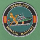 Spain Guardia Civil Servicio Maritimo Police Marine Unit Patch
