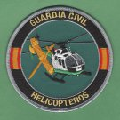 Spain Guardia Civil Helicopteros Police Air Unit Patch