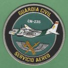 Spain Guardia Civil Servicio Aereo Police CN-235 Aircraft Patch