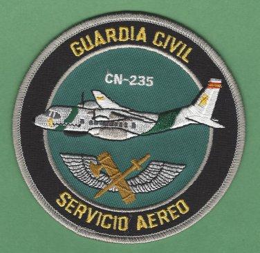 Spain Guardia Civil Servicio Aereo Police CN-235 Aircraft Patch