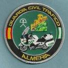 Spain Guardia Civil Trafico Almeria Police Motorcycle Patch