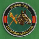 Spain Guardia Civil Escuadron Cabelleria Police Mounted Patrol Patch