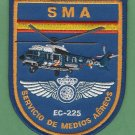 Spain National Police SMA EC-225 Helicopter Patch