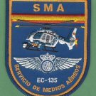 Spain National Police SMA EC-135 Helicopter Patch