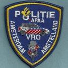 Amsterdam (Amstelland) Police Traffic Unit Patch