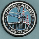 Saint Nazaire Gendarmerie Police Helicopter Unit Patch