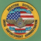 DEA Drug Enforcement Administration Aviation Division Patch