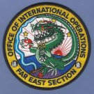 DEA Drug Enforcement Administration Far East Asia International Operations Patch