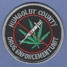 DEA Humboldt County California Drug Enforcement Unit Patch