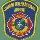 Saipan International Airport Crash Fire Rescue Patch ARFF