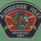 Albuquerque New Mexico Police Mounted Patrol Patch