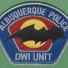 Albuquerque New Mexico Police DWI Enforcement Patch
