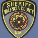 Valencia County Sheriff New Mexico Patch