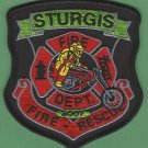 Sturgis South Dakota Fire Patch