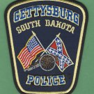 Gettysburg South Dakota Police Patch