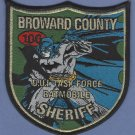 Broward County Sheriff Florida DWI Task Force Police Patch