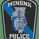 Minook Illinois Police Patch